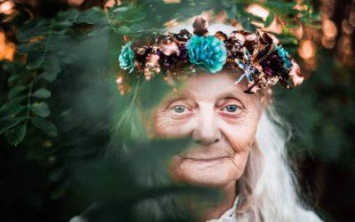 Le pélerinage vers la vieille femme